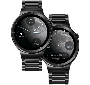 Moon Phase Pro watch face on Wear OS